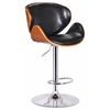 Osa Adjustable Swivel Stool, Black