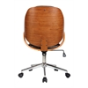 Riko Desk Chair, Brown
