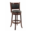 "29"" Augusta Swivel Stool, Cherry"