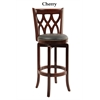 "29"" Cathedral Swivel Stool, Cherry"