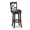 "29"" Georgia Swivel Stool, Cappuccino"