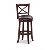 "29"" Georgia Swivel Stool, Cherry"
