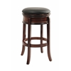 "29"" Magellan Swivel Stool, Brandy"