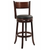 "29"" Palmetto Swivel Stool, Chestnut"