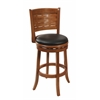 "29"" Sumatra Swivel Stool, Brush Oak"