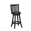 "29"" Tierra Swivel Bar Stool, Merlot"
