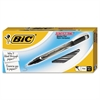BIC Intensity Permanent Marker Pen, .5mm, Fine, Black, Dozen