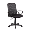 Modern Ergonomic Mesh Medium Back Executive Computer Desk Task Office Chair, Jet Black