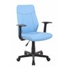 Modern Ergonomic Mesh Medium Back Computer Desk Task Office Chair, Sky Blue