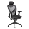 Fully Adjustable Mesh Office Computer Chair with Adjustable Lumbar Support, Adjustable Armrests, Adjustable Headrest and Multi-position Recline Control, Jet Black