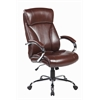 High back Modern Computer PU Leather ,Executive Office Chair, Mocha Brown