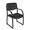 Crusoe Side Chair with Arms- Black