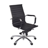 Solace Swivel Chair- Black