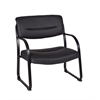 Crusoe Big & Tall Side Chair- Black
