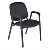 Ace Stack Chair (4 pack)- Midnight Black