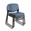 Zeng Stack Chair (4 pack)- Blue