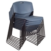 Zeng Stack Chair (8 pack)- Blue