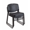 Zeng Stack Chair (4 pack)- Black