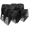 Zeng Stack Chair (50 pack)- Black
