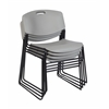 Zeng Stack Chair (4 pack)- Grey