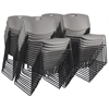 Zeng Stack Chair (50 pack)- Grey