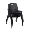 'M' Stack Chair (4 pack)- Black