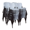 'M' Stack Chair (40 pack)- Grey