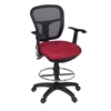 Harrison Swivel Stool- Red