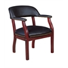 Ivy League Captain Chair- Black