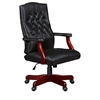 Ivy League Swivel Chair- Black