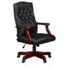 Ivy League Swivel Chair- Black