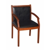 Regent Vinyl Side Chair- Cherry