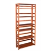 "Flip Flop 67"" High Folding Bookcase- Cherry"