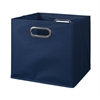 Cubo Foldable Fabric Storage Bin- Blue