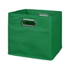 Cubo Foldable Fabric Storage Bin- Green