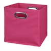 Cubo Foldable Fabric Storage Bin- Pink