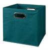 Cubo Foldable Fabric Storage Bin- Teal