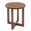 "Chloe 21"" Round End Table- Cherry"