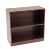 "Legacy 30"" High Bookcase- Mahogany"