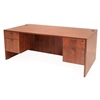 "Legacy 71"" Double Pedestal Desk- Cherry"