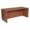 "Legacy 71"" Desk Shell- Cherry"