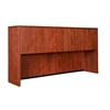 "Legacy 71"" 4-Door Hutch- Cherry"