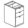 Legacy Box Box File Pedestal- Mahogany