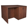Legacy Stand Up Desk/ 3 Storage Cabinet Quad- Cherry