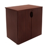 "Legacy 35"" Stackable Storage Cabinet- Mahogany"