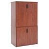 "Legacy 29"" Storage Cabinet with 35"" Storage Cabinet- Cherry"