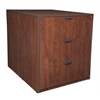 Legacy Stand Up Back to Back Lateral File/ Desk- Cherry