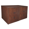 Legacy Stand Up Lateral File Quad- Cherry