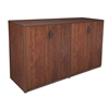 Legacy Stand Up Side to Side Storage Cabinet/ Storage Cabinet- Cherry