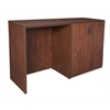 Legacy Stand Up Side to Side Storage Cabinet/ Desk- Cherry